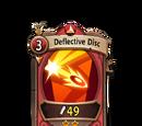 Deflective Disc