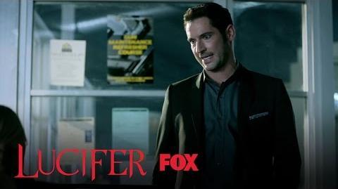 Lucifer Blames Chloe For Linda Not Talking To Him Season 2 Ep. 7 LUCIFER