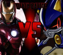 Iron Man vs Metal Sonic