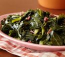 Collard greens (the grossest food of all)