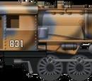 German War Train
