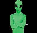 Spooky Alien Leader