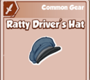 Ratty Driver's Hat