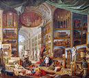 Galeries de vues de la Rome antique