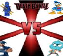 Blue TV Shows Characters Battle Royale