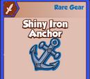 Shiny Iron Anchor