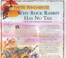 Why Rock Rabbit Has No Tail