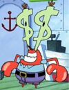 Mr. Krabs with Dollar Sign Eyes.jpg