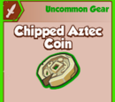 Chipped Aztec Coin