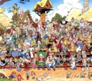 Recurring characters in Asterix