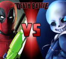 Deadpool vs Sans