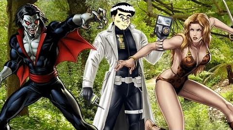 PVP 27 SHANNA + MORBIUS. Marvel Avengers Alliance Agent Agente ANNHE Friki.