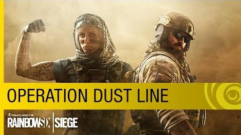 Tom Clancy's Rainbow Six Siege - Operation Dust Line Trailer US