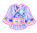 New Year Coord/Sky Blue New Year Coord