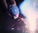 Laser wristwatch