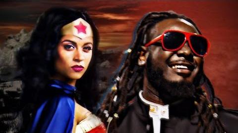 Wonder Woman vs Stevie Wonder