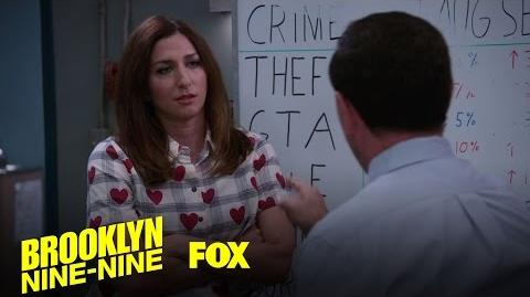 Gina And Charles Discuss The Boyle Family Vacation Season 4 Ep. 8 BROOKLYN NINE-NINE