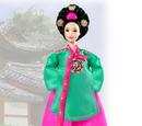 Princess of the Korean Court Barbie Doll