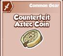 Counterfeit Aztec Coin