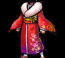 Red New Year's Kimono (Gear)