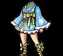 Light Blue Mini-Yukata (Gear)