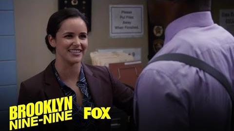 Amy May Or May Not Have Worn A Diaper During A Big Test Season 4 Ep. 9 BROOKLYN NINE-NINE