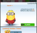 Leotard Minion Costume