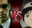 Agent Smith (Matrix Triology) vs. Lain (Serial Experiments Lain)