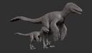 Juvenile Dakotaraptor Model The Isle.png