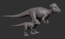 Juvenile Pachycephalosaurus Model The Isle.png