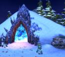 Пещера огненных скал
