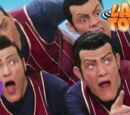 """JustSomeSush/NOPE Slime, but every time the word """"Nope"""" is typed, We are number one is shown."""