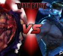 Evil Ryu VS Shadow Jago