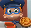 Badgeroni pizza