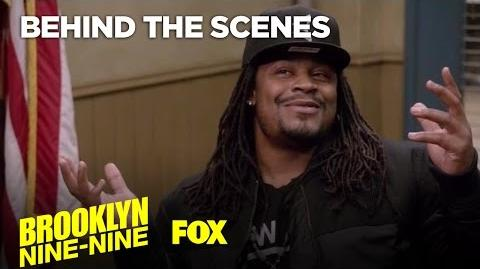 Going Beast Mode With Marshawn Lynch Season 4 Ep. 11 BROOKLYN NINE-NINE