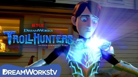 Becoming the Trollhunter​​ ​TROLLHUNTERS
