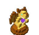 Golden Dragon Effigy
