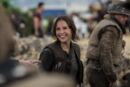 Felicity Jones on the set of Rogue One 1.jpg