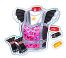 Starry Rock Coord/Pink Starry Rock Coord