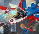 76076 La poursuite en avion de Captain America