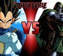 Vegeta vs Doctor Doom
