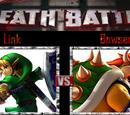 Link VS Bowser