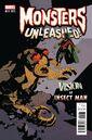 Monsters Unleashed Vol 2 1 Classic Monster vs. Marvel Hero Variant.jpg