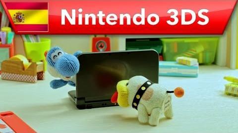 Poochy & Yoshi's Woolly World - ¡Cucú-tras, Poochy! (Nintendo 3DS)