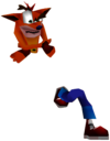 Crash Bandicoot 3 Warped Crash Bandicoot.png