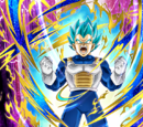 Uncontrollable Rage Super Saiyan God SS Vegeta