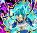 Passion of the Warrior Race Super Saiyan God SS Vegeta