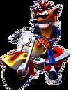 Crash Bandicoot 3 Warped Crash Bandicoot Motorcycle.png
