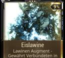 Eislawine