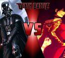 Darth Vader vs Cinder Fall